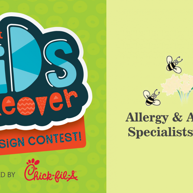 2018 Kid's Takeover Ad Design Contest – Allergy & Asthma Specialists Ad Submissions