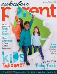 Owensboro Parent January/February 2018 Cover