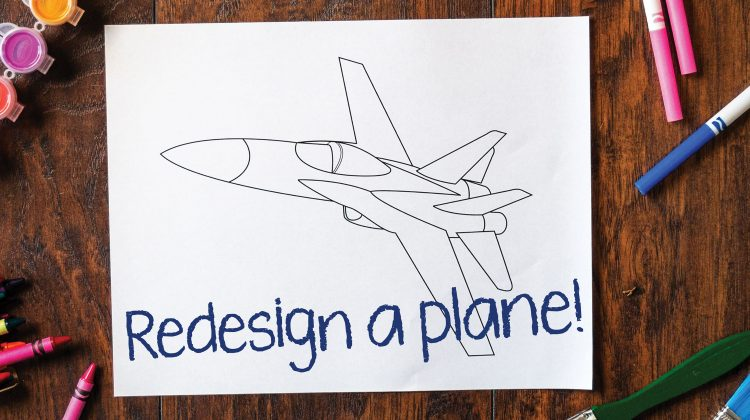 Redesign a Plane Coloring Contest