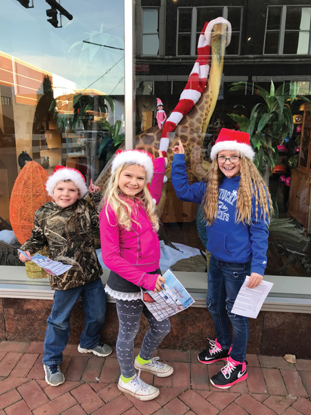 Kids at Owensboro Holiday Stroll