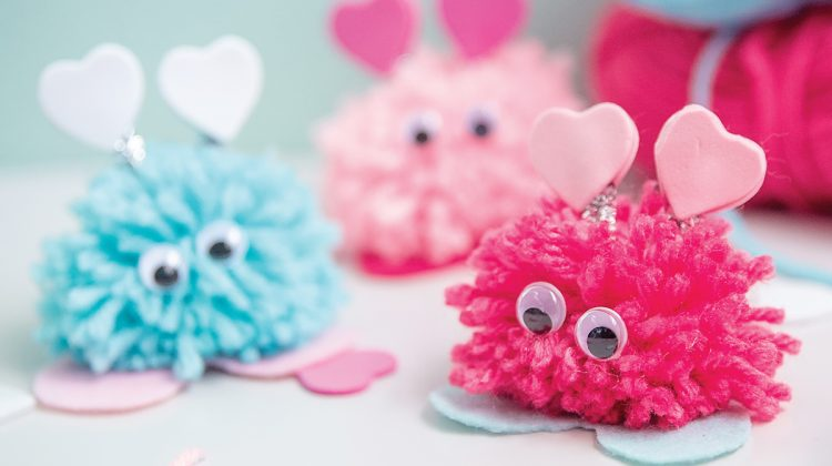 Valentines Day Craft: Love Bugs
