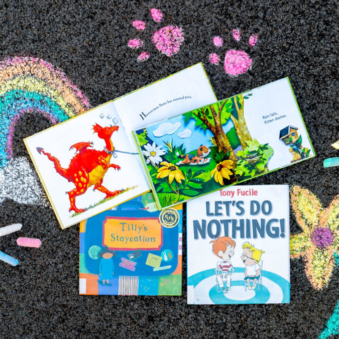 Summer books for kids to choose from at the DCPL