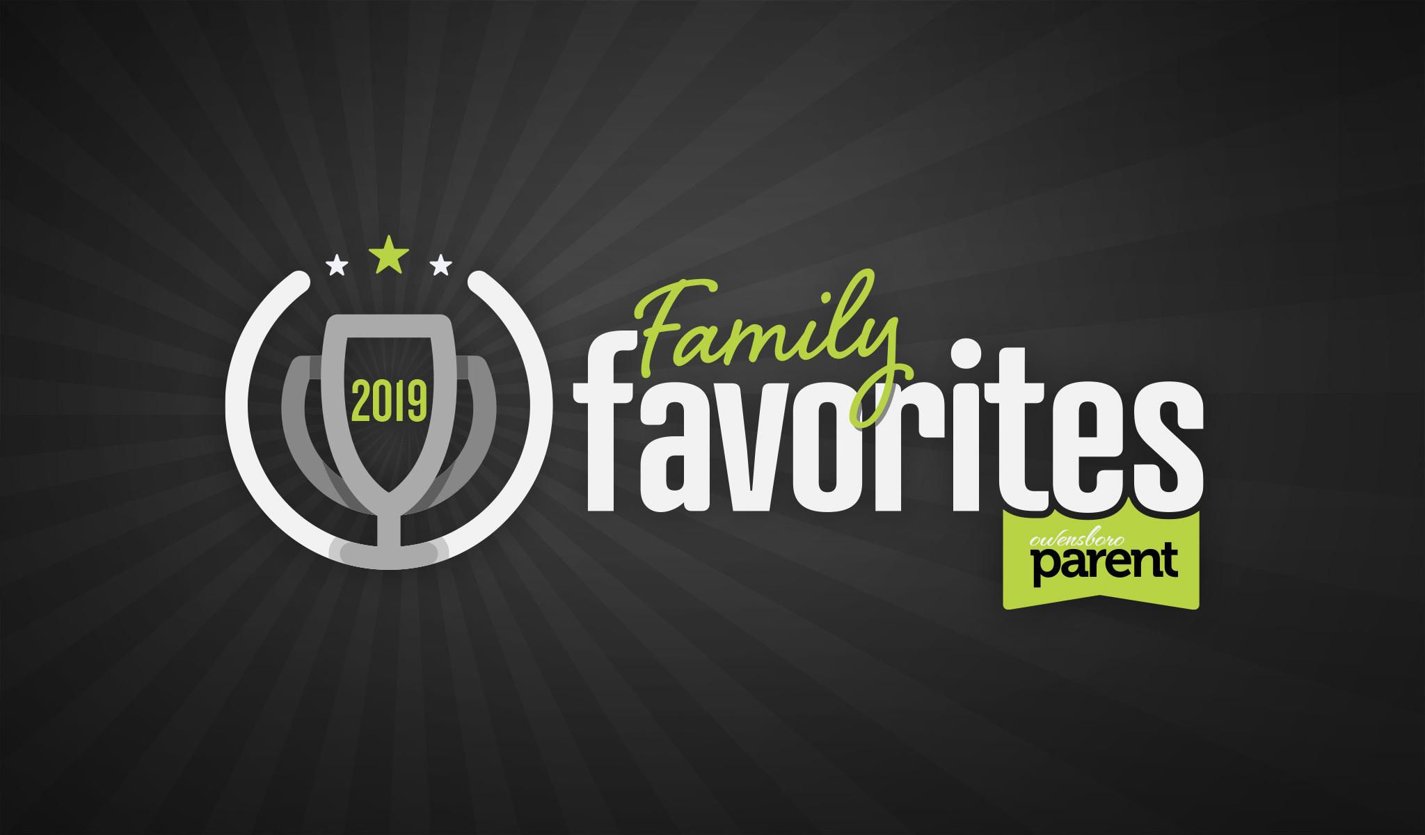 2019 Owensboro Parent Family Favorites Logo